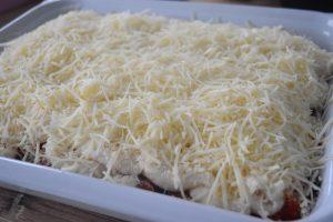 Moussaka à la béchamel et fromage