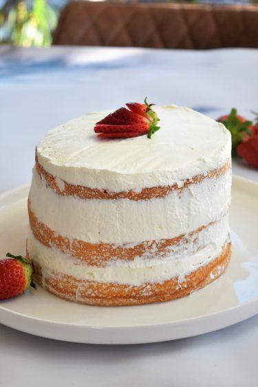 Naked cake ou nude cake