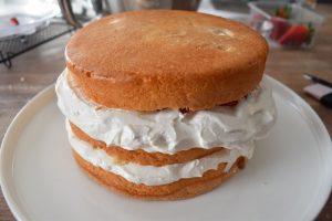 Nude cake ou naked cake