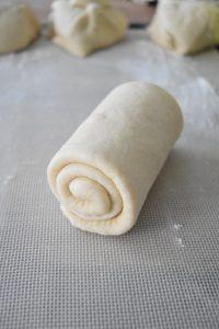 Escargot de pâte à pain