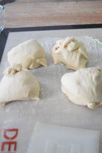 Pâtons pour pain au lait