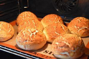 Cuisson du pain tigré ou du pain girafe