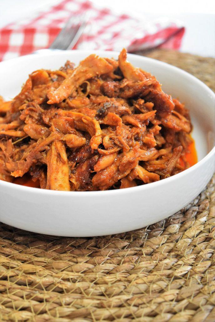 Poulet effiloché ou pulled chicken