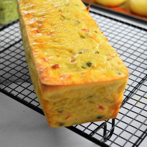 Cake au thon et petits légumes au Companion