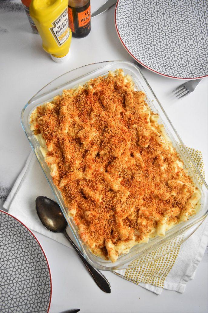 Mac and cheese ou gratin de pâtes au fromage
