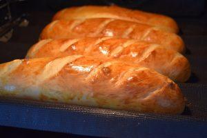Cuisson des pains subway