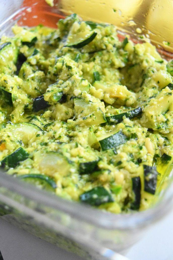 Pesto de courgettes au companion