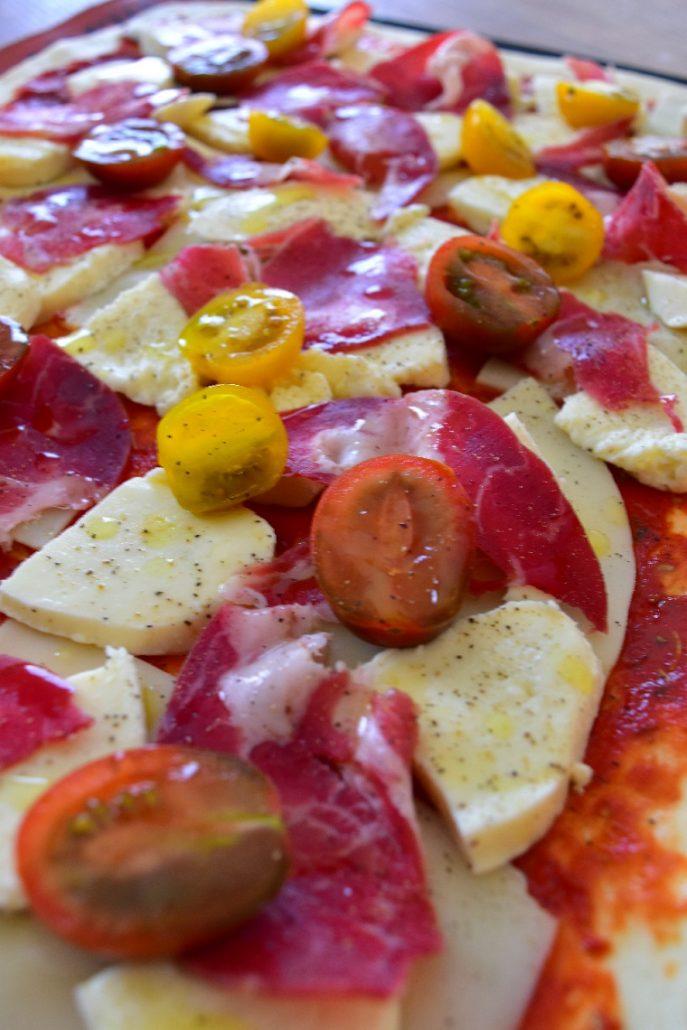 Pizza à la coppa