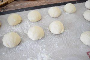 Boules de pâte pour puits