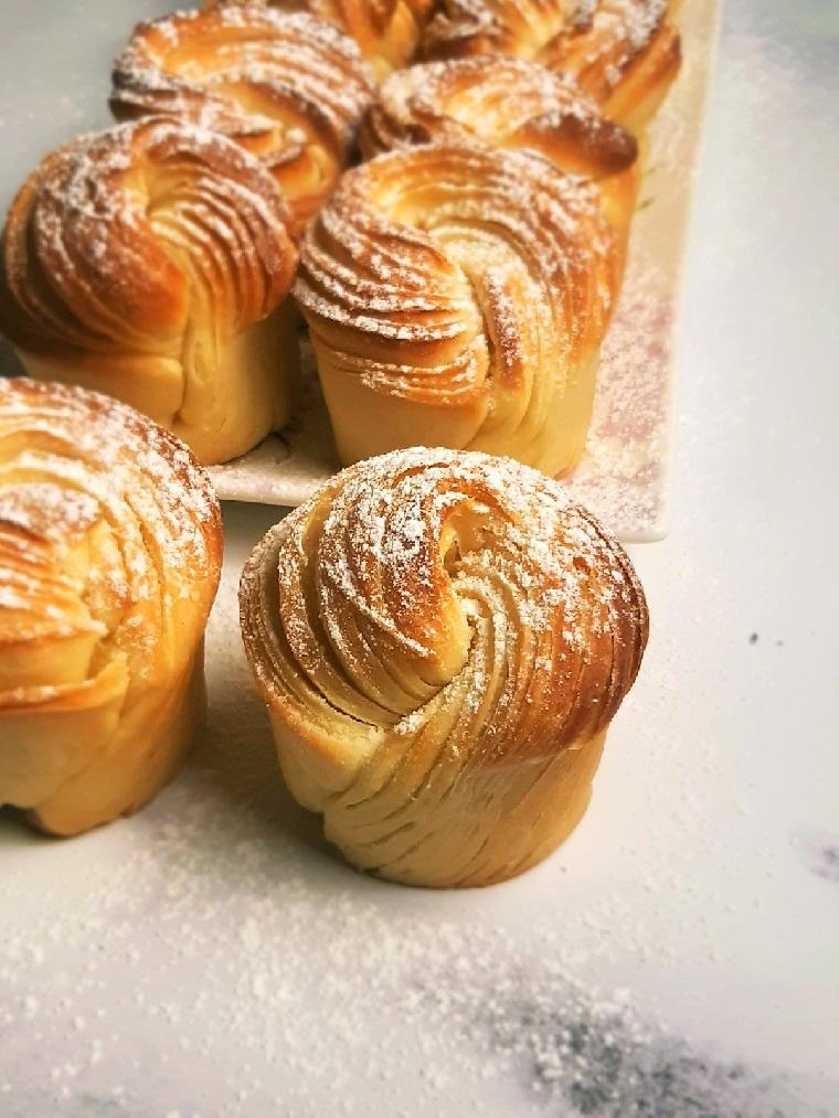 Cruffins, mi-croissant mi muffin