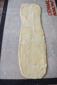 Pâte avec beurre pommade