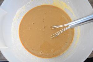 Pâte à crêpes à la chicorée