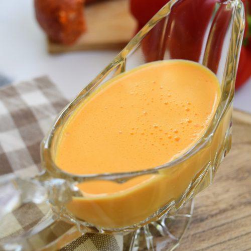 Sauce au poivron rouge et chorizo