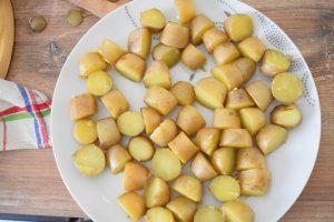 Pommes de terre grenaille pour tatin