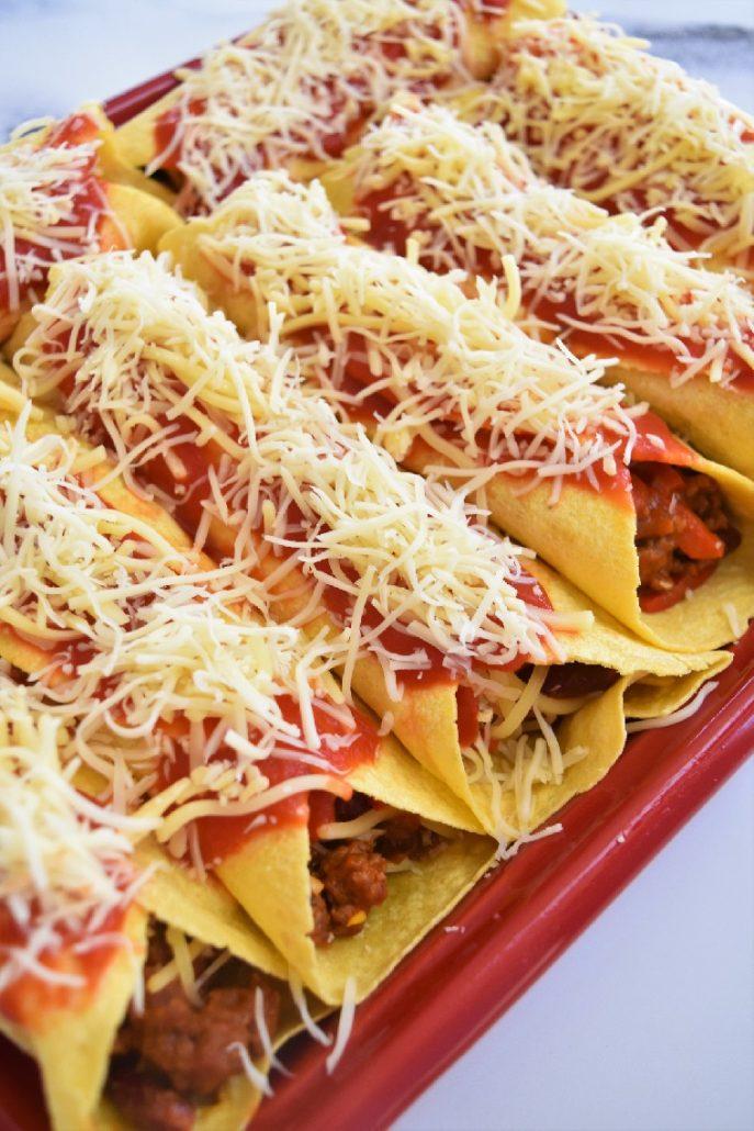 Tortillas au chili con carne au companion