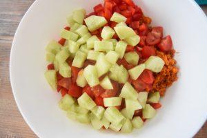 Taboulé turque au concombre