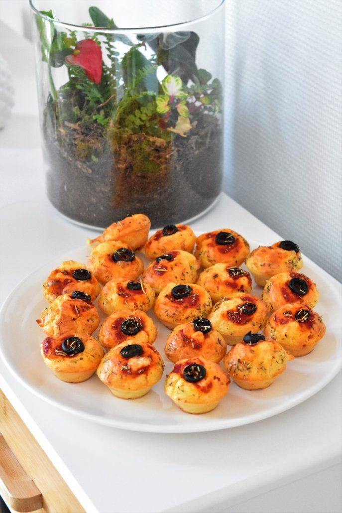 Pizza en muffins