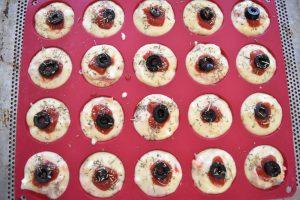 Moule à mini muffins salés
