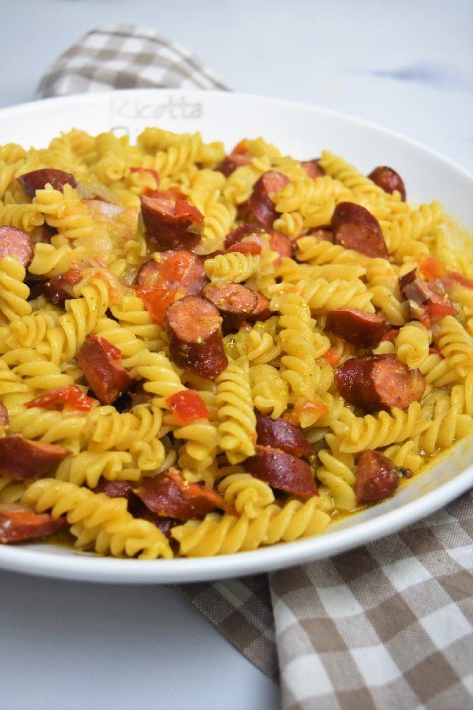 One pot pasta au Cookeo