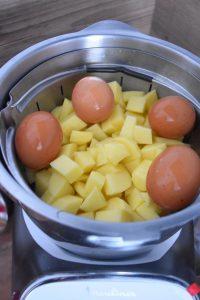 Pommes de terre et oeufs cuits au Companion