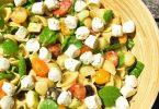 Salade de pâtes façon grecque