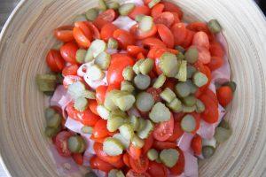 Cornichons pour salade piémontaise