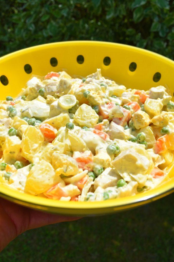 Salade composée complète au companion
