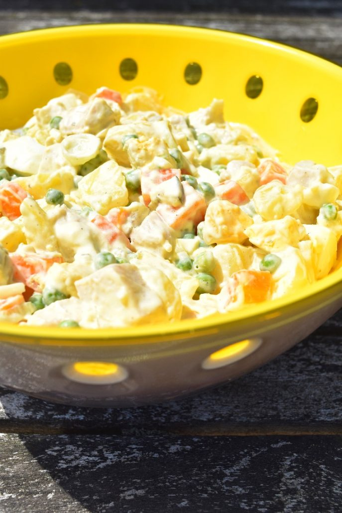 Salade composée complète