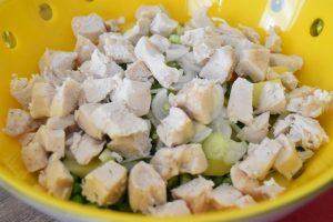 Salade russe au poulet