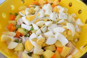 Salade russe maison