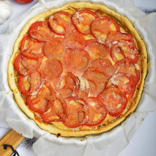 Tarte salée à la tomate