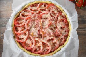 tarte salée comme la tomate farcie