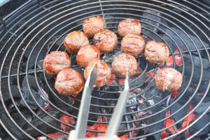 Boulettes de viande sauce barbecue