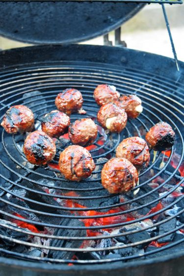 Cheesy meatballs ou boulettes de viande au fromage