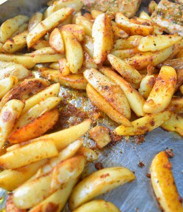 Potatoes cuites à la plancha