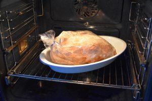Poulet au four dans sachet cuisson