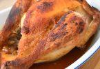 Poulet rôti au four en sachet cuisson