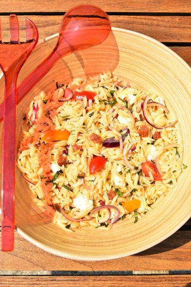 Salade de pâtes orzo
