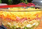 Salade étagée