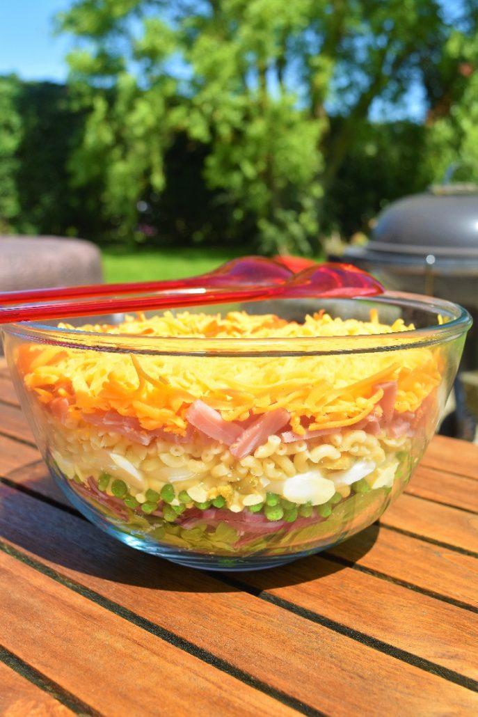 Salade à étages