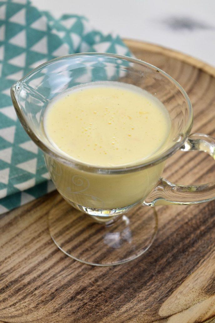 Sauce beurre blanc légère au companion