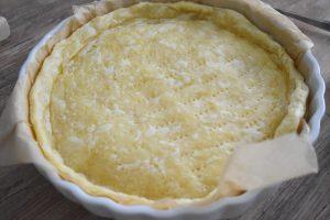 Pâte feuilletée méthode escargot pour tarte à l'ail