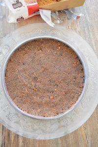 Fond de tarte aux biscuits émiettés