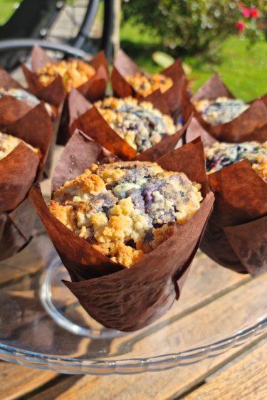 Muffins aux myrtilles de Pierre Hermé