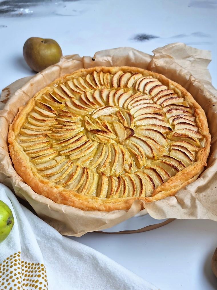 Tartes aux pommes d'Alsace