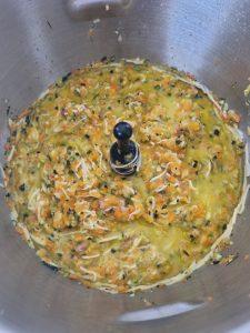 Préparation pour tarte aux légumes au Companion