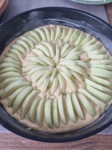 Tarte suisse aux pommes facile