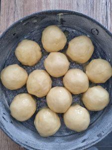 Dorure de brioche au jaune d'oeuf et lait