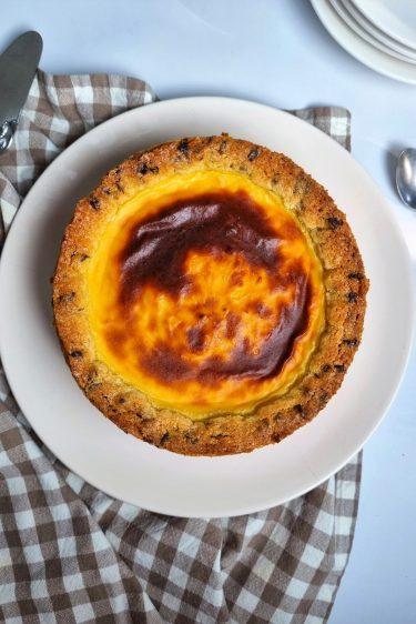 Gâteau mi-flan mi-cookie